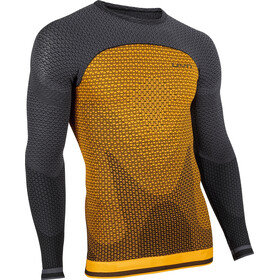 UYN Running Alpha OW LS Shirt Men sunny orange/charcoal